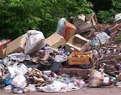 Черновецкого утопят в мусоре